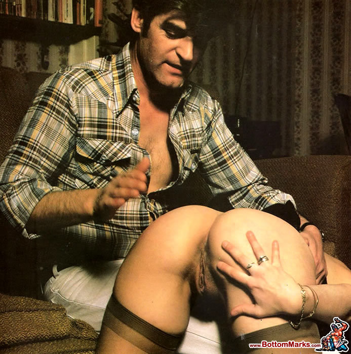 Spanking in the woodshed